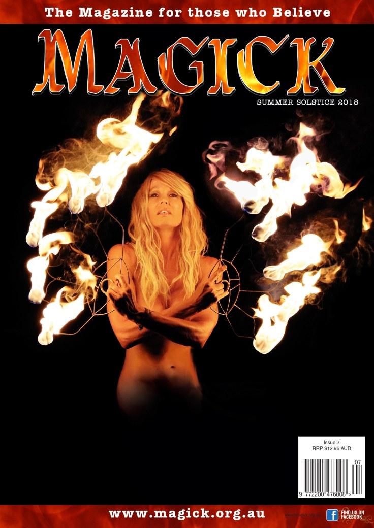 Magick 8 Cover Dec 2018